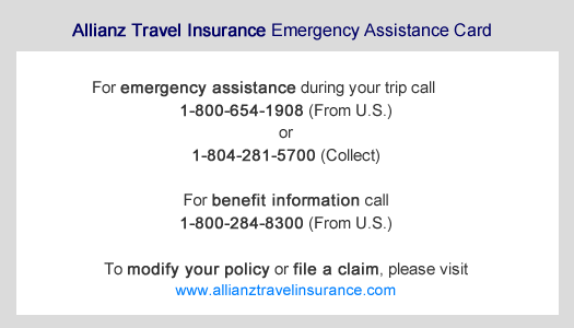 Purchase A Travel Insurance Policy Step 1 Allianz