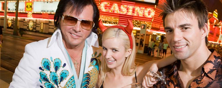 Allianz - unique vacation ideas - Elvis impersonator in Las Vegas