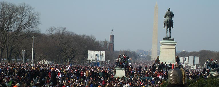 Presidential Inauguration View