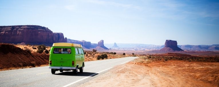 Allianz - road trip to monument valley