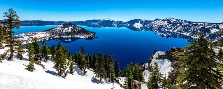 Allianz - Crater Lake in Winter