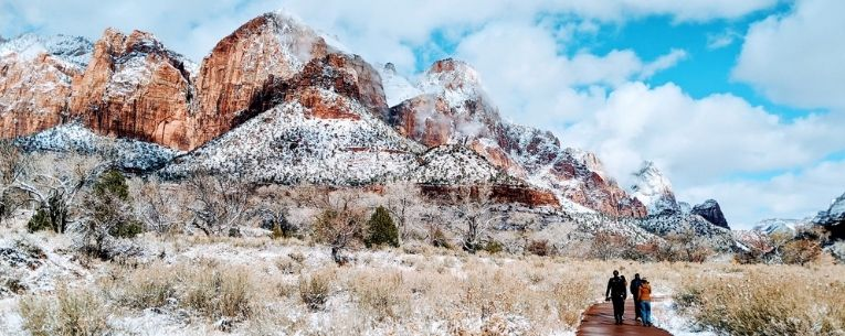 Allianz - Zion National Park in Winter